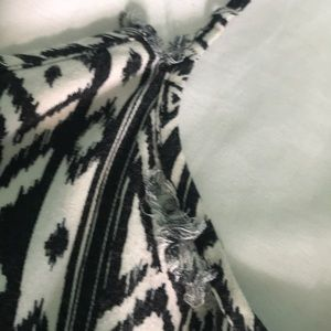Decree Other - black and white romper